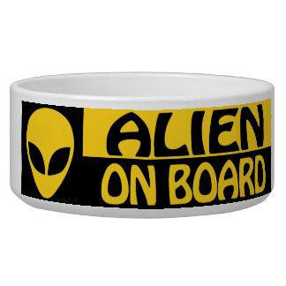 ALIEN ON BOARD BOWL
