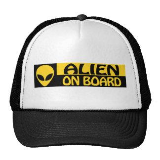 ALIEN ON BOARD CAP