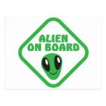 ALIEN on board! Post Card