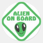 ALIEN on board! Stickers