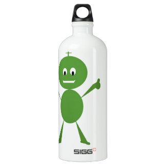 Alien on Bottle