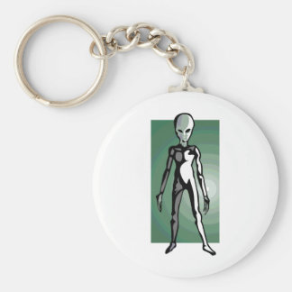 (ALIEN on everything you need Keychain