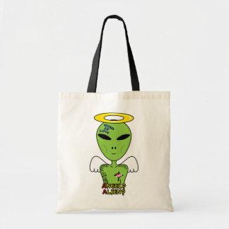 Alien or Angel Funny Graphic Bag