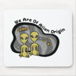 Alien Origin Mousepad