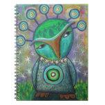 Alien Owl notebook