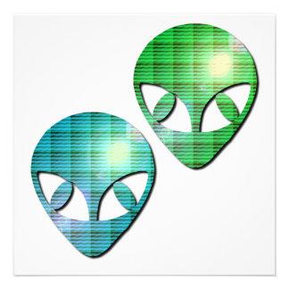 Alien Pair Invitation