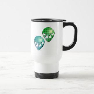 Alien Pair Plastic Travel Mug