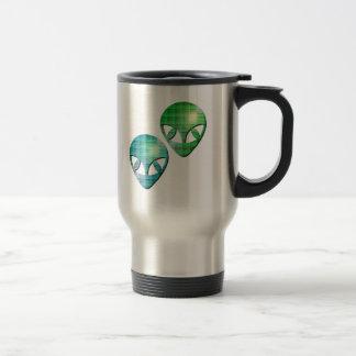 Alien Pair Stainless Travel Mug