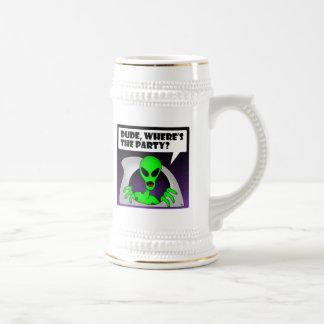 ALIEN PARTY-1 COFFEE MUG