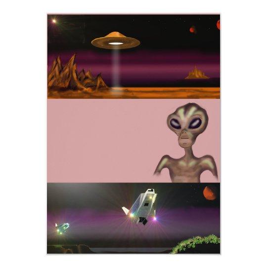 Alien Party Invites