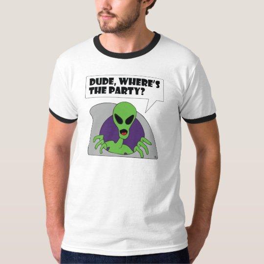 ALIEN party T-Shirt
