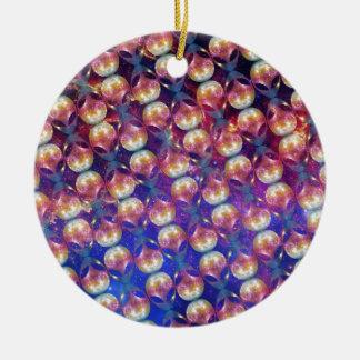 Alien Pattern Ceramic Ornament