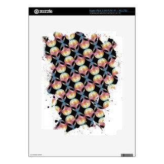 Alien Pattern iPad 3 Skin