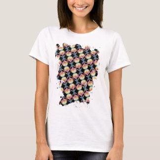 Alien Pattern T-Shirt