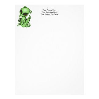 Alien Pet Letterhead