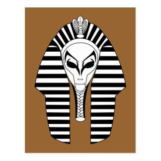 Alien Pharaoh Postcard