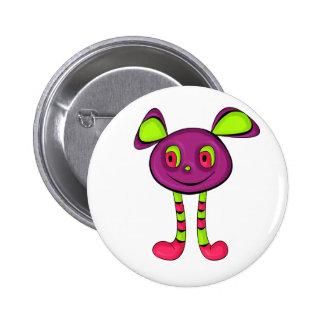 Alien Pinback Button