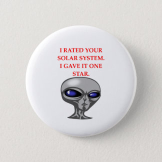 ALIEN PINBACK BUTTON