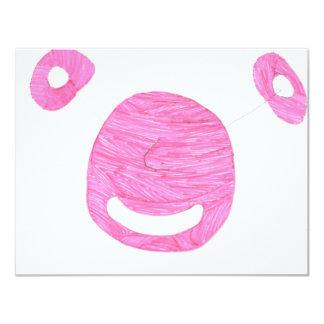 Alien Pink 4.25x5.5 Paper Invitation Card
