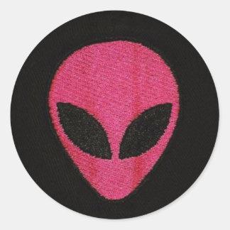 ALIEN PINK stickers
