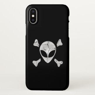 Alien Pirate iPhone X Case