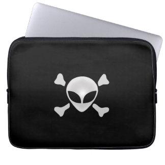Alien Pirate Laptop Computer Sleeves