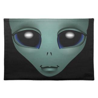 Alien Place Mats  E.T. Cool Alien Gifts ET Decor