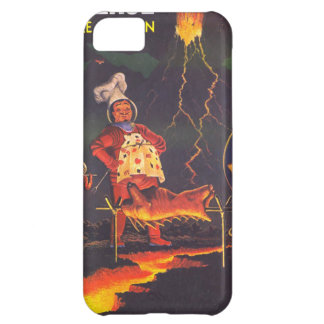 Alien Planet BBQ Cookout iPhone 5C Cases