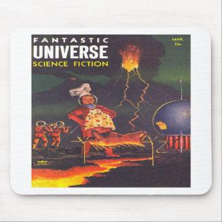 Alien Planet BBQ Cookout Mousepad