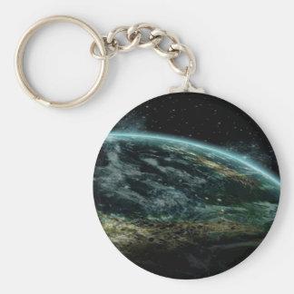 Alien Planet Keychain