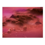 Alien Planet Landscape Postcards