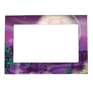 Alien Planet Magnetic Picture Frame