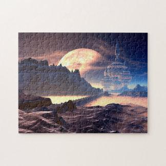 Alien Planet Puzzle