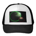 Alien planets baseball hat