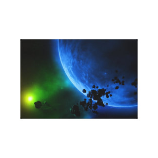 Alien Planets Canvas Print