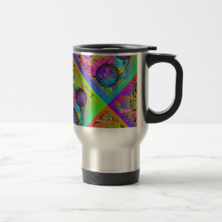 Alien Planets in an Alternate Universe Travel Mug