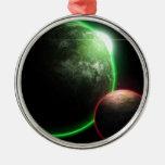Alien planets jul dekorationer