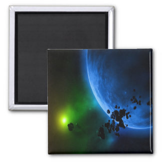 Alien Planets Magnet