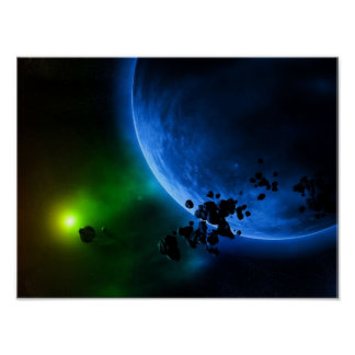 Alien Planets Poster