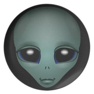 Alien Plates E.T. Cool Alien Gifts ET Dinner Plate