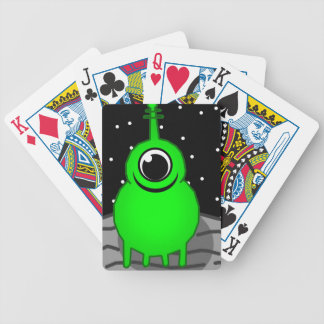 Alien Bicycle Playing Cards