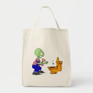 Alien Plumber Bag