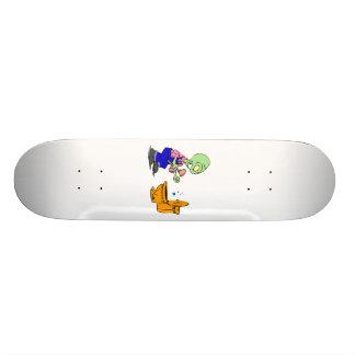 Alien Plumber Skateboard Deck