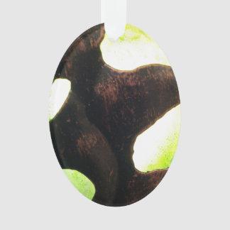 Alien Pod Abstract Ornament