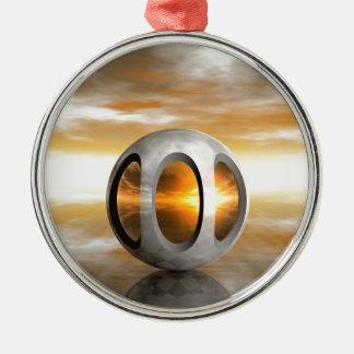 Alien Pod Metal Ornament