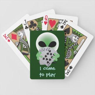 Alien Poker Pro Deck Of Cards