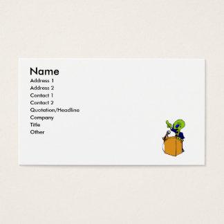 Alien Politician Business Card