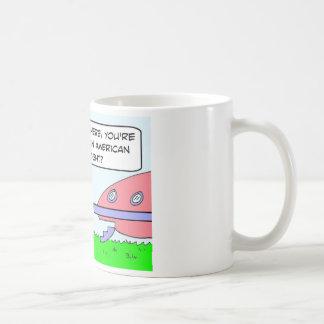 alien pregnant born american citizen saucer coffee mugs