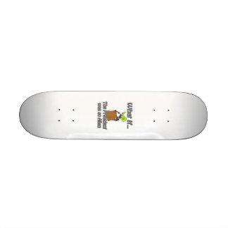alien president skateboard deck