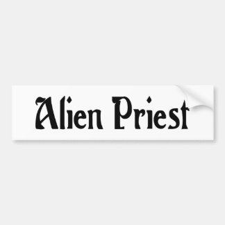 Alien Priest Sticker